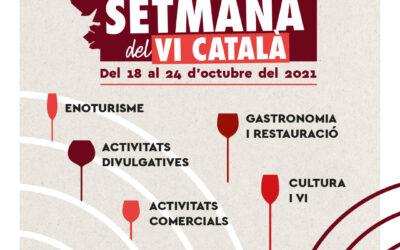 Participa a la Setmana del Vi Català